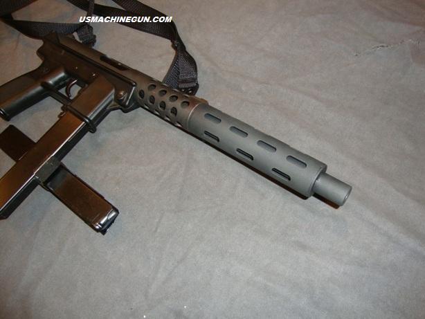 US Machinegun: Steel Slotted Barrel Extension for Tec 9 ...