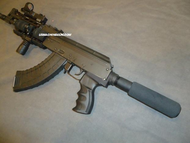 Us Machinegun Rear Adapter With Tactical Pistol Buffer
