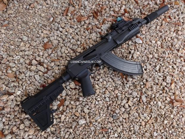 US Machinegun: Adapter with ATF Approved Shockwave Blade